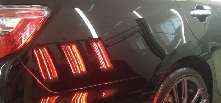 Покрытие автомобиля жидким стеклом. Полировка авто